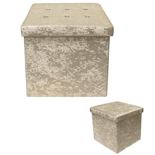 CHAMPANGE VELVET FOLDING BOX