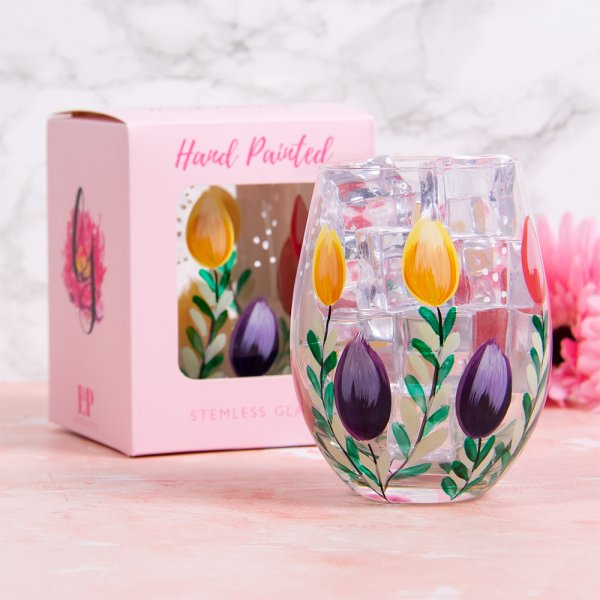 TULIPS STEMLESS GLASS