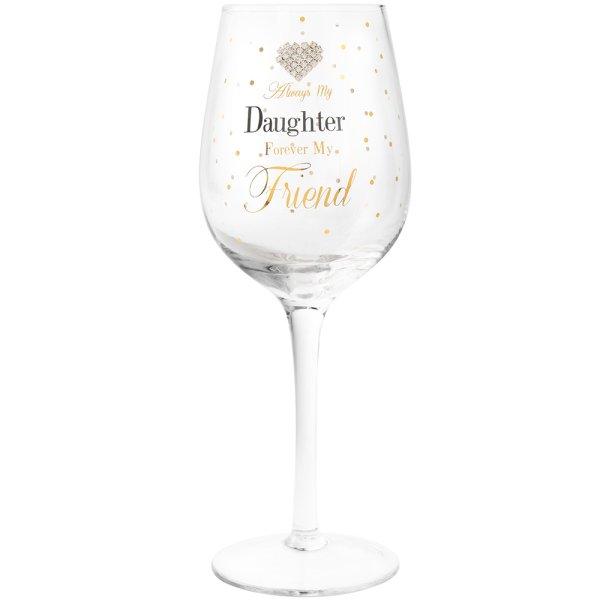 MADDOTS DAUGHTER WINE GLASS
