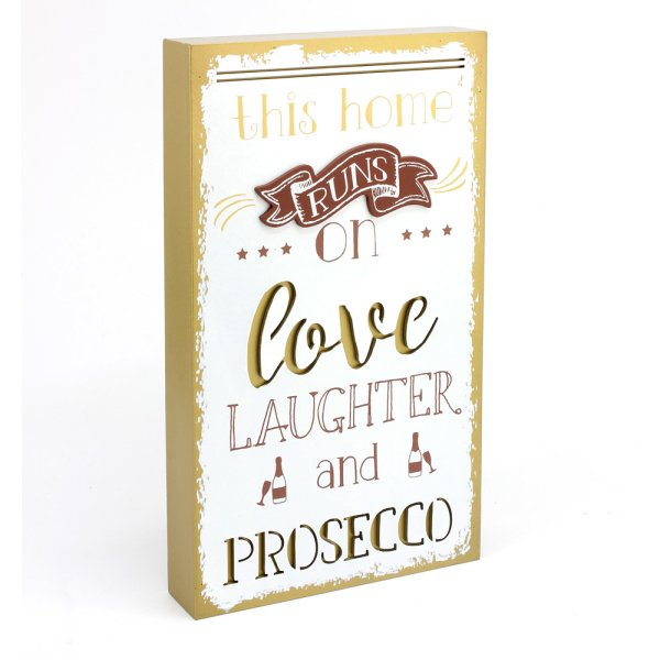 LOVE LAUGH PROSC PLAQUE