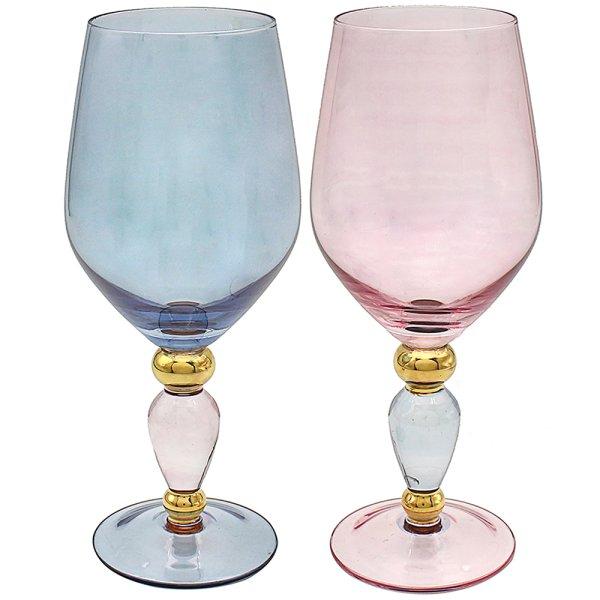 DECO WINE GLASS SET OF 2
