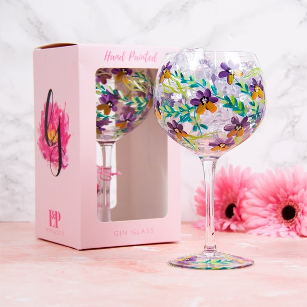 PANSIES GLASS