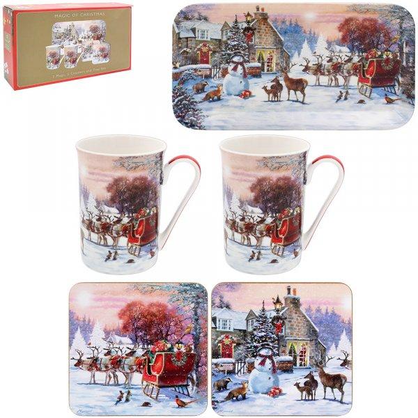 MAGIC OF CHRISTMAS GIFTSET 5PC