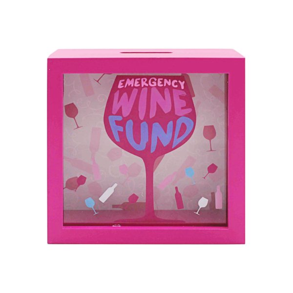 WINE MONEY BOX