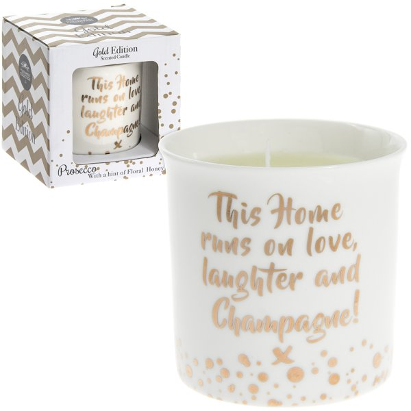 CHAMP FLORAL HONEYSCENT CANDLE