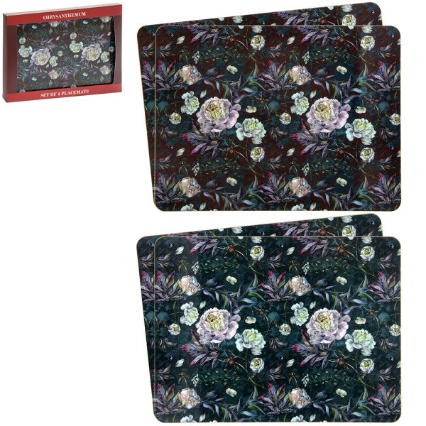 CHRYSANTHEMUM PLACEMATS S4