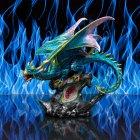 DRAGON BLUE LED