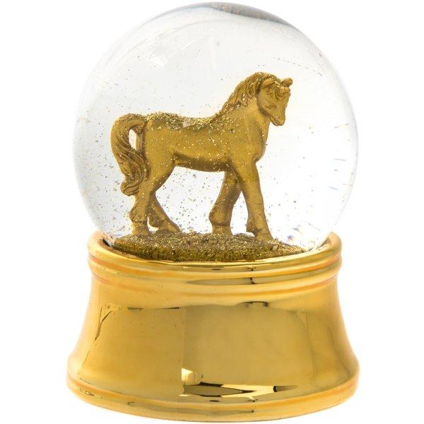 GOLD UNICORN LED W/BALL 65MM