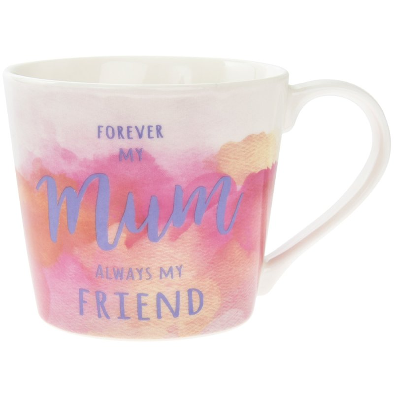 WATERCOLOUR FOREVER MY MUM MUG