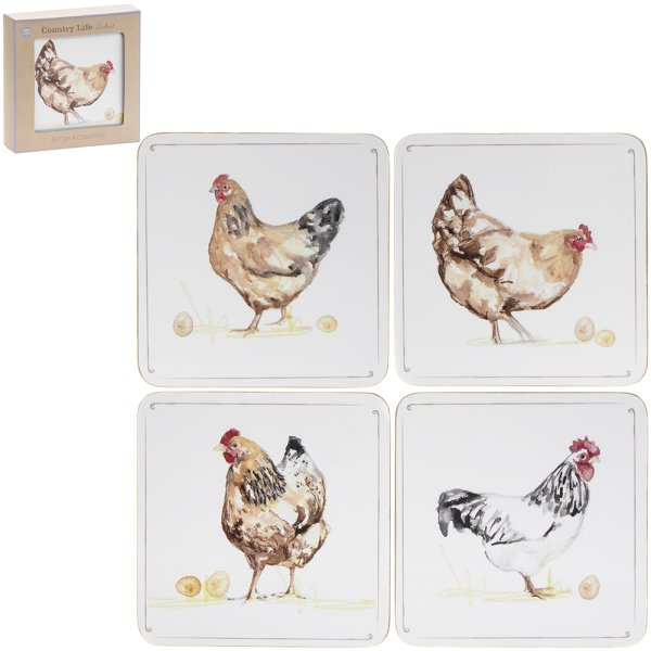 CHICKENS COASTERS S4