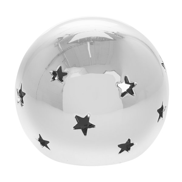 SILVER STAR LED BALL M