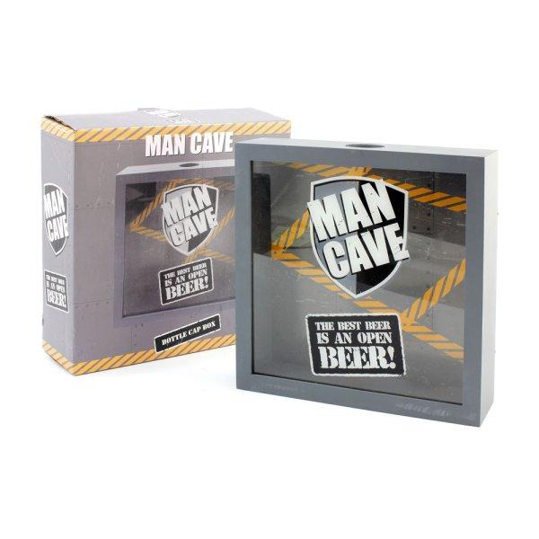 MAN CAVE BOTTLE CAP BOX