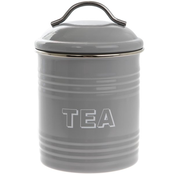 HSH GREY TEA CANISTER