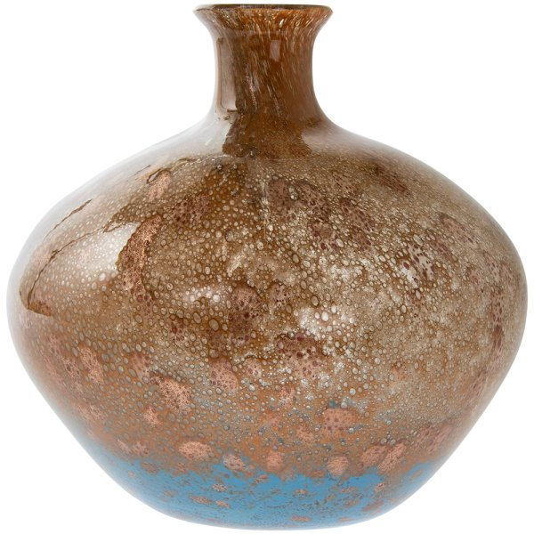 VINCENZA GLASS VASE 25CM