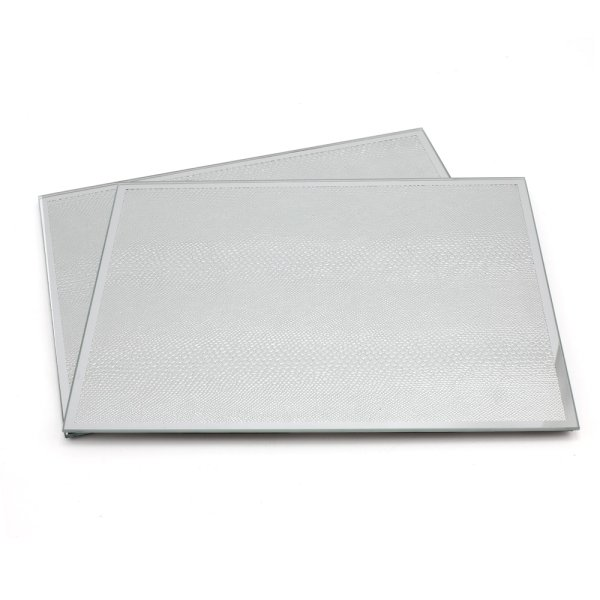 SILVER SNAKE SKIN PLACEMATS