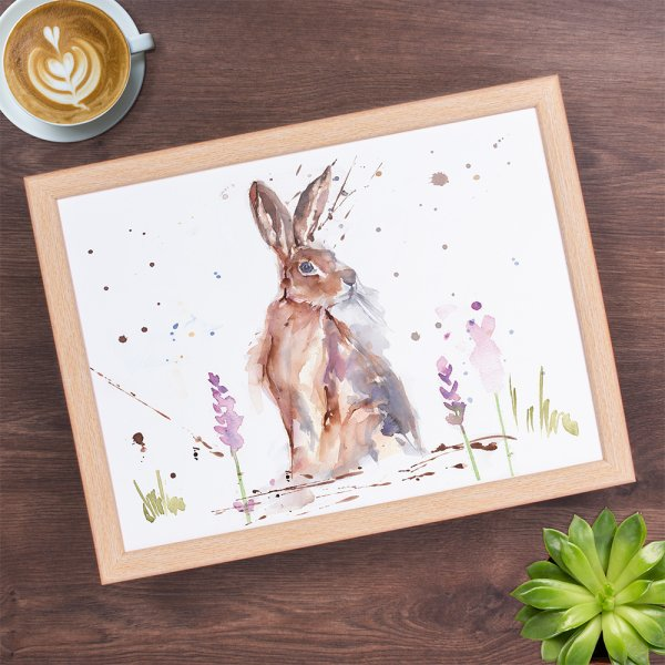 COUNTRY LIFE HARE LAPTRAY