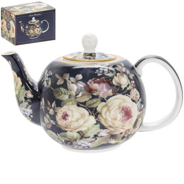 ROSE BLOSSOM TEA POT