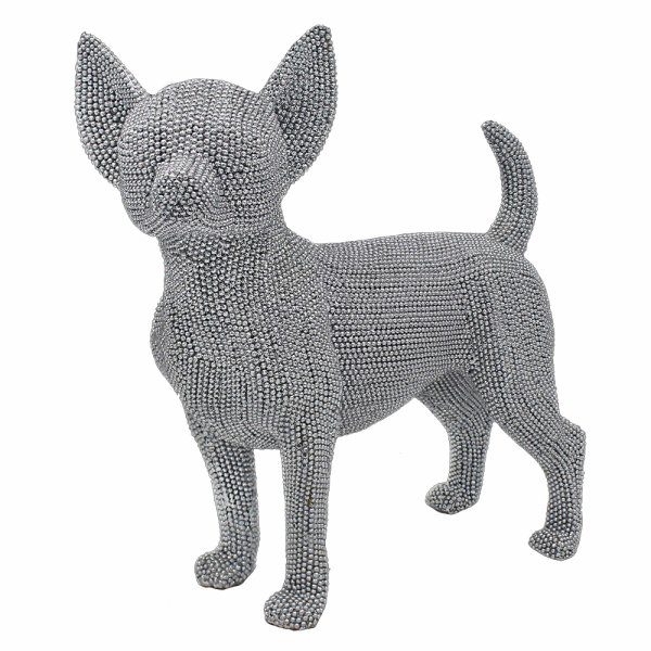 SILVER ART CHIHUAHUA STANDING