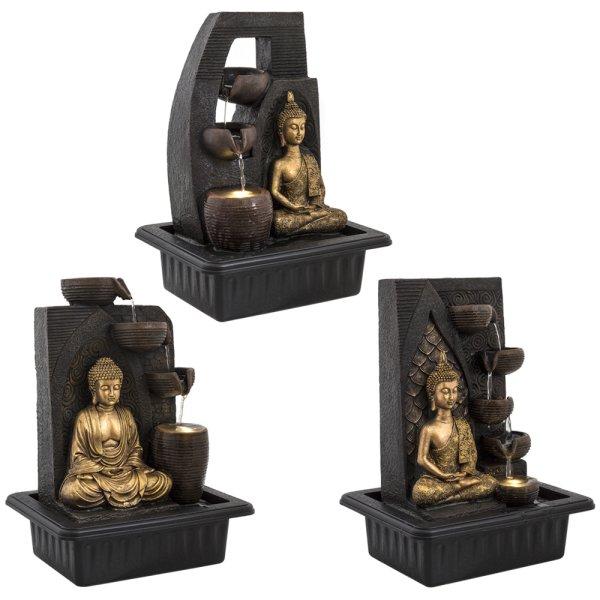 BUDDHA FOUNTAIN LARGE 3 ASST