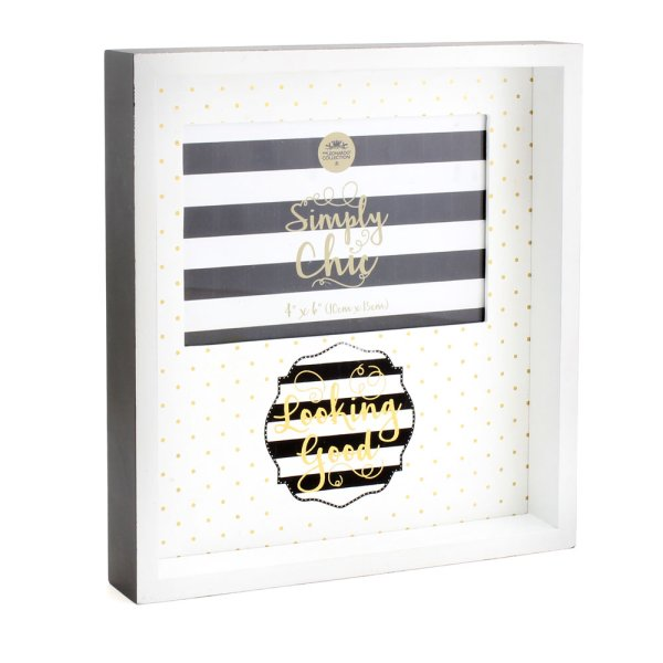 SIMPLY CHIC PHOTO FRAME