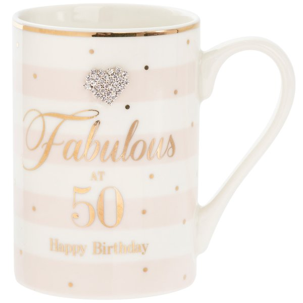 MAD DOTS 50TH BDAY MUG