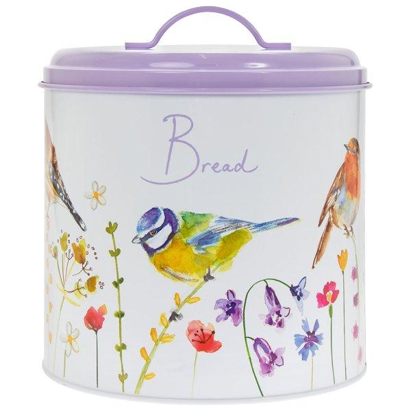 GARDEN BIRDS BREAD BIN