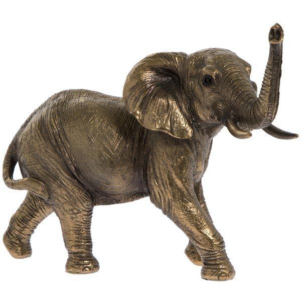REFLECTIONS BRNZD ELEPHANT