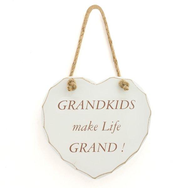 GRANDKIDS MAKE LIFE GRAND PLQ