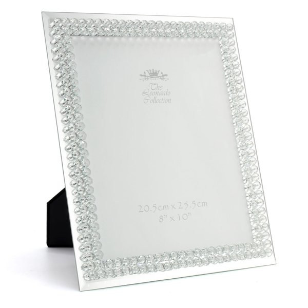 MIRROR DIAMANTE FRAME 8X10""