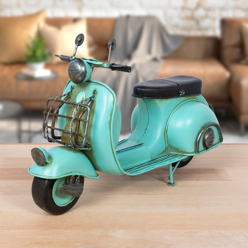 VINTAGE SCOOTER BLUE