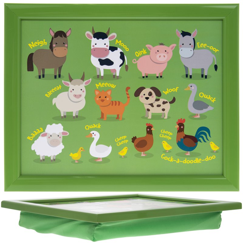 LITTLE STARS FARMYARD LAPTRAY