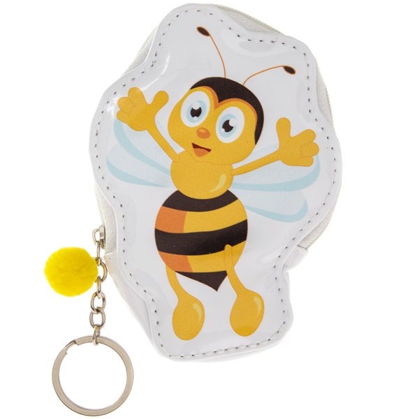 BEE HAPPY COIN PURSE