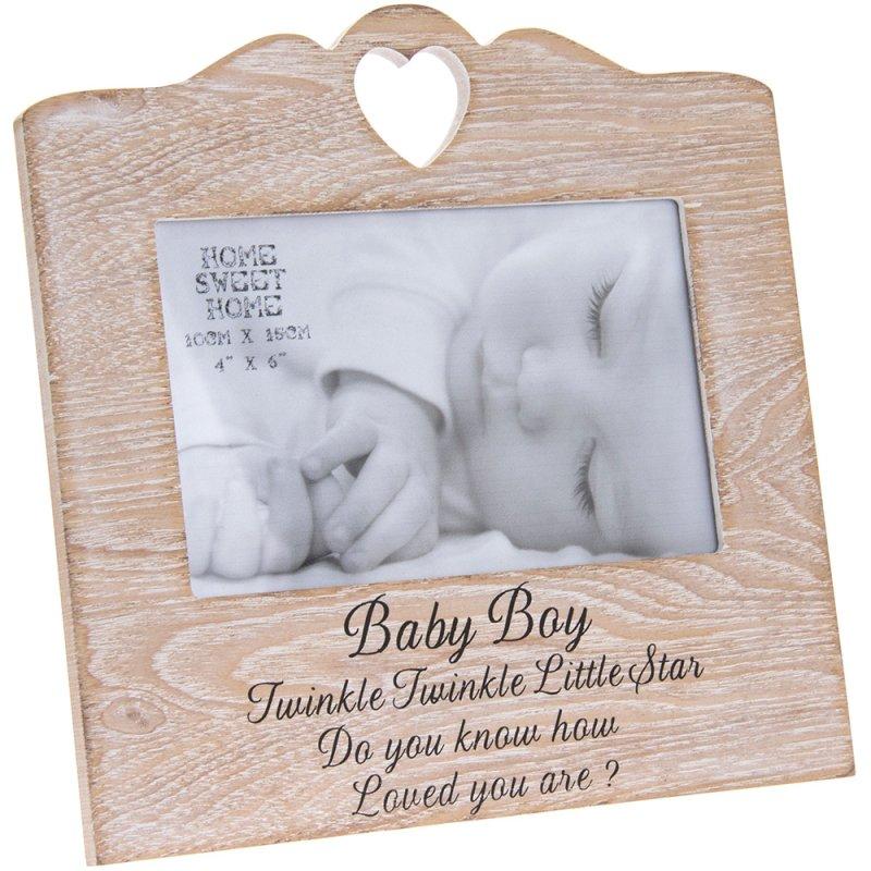 SENTIMENTS HEARTFRAME BABYBOY