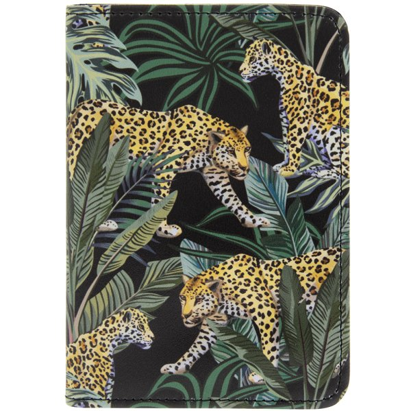 JUNGLE FEVER PASSPORT HOLDER