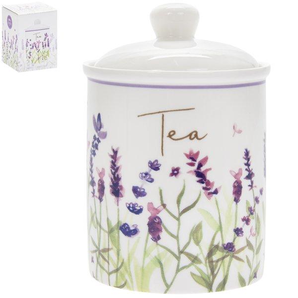 LAVENDER TEA CANISTER