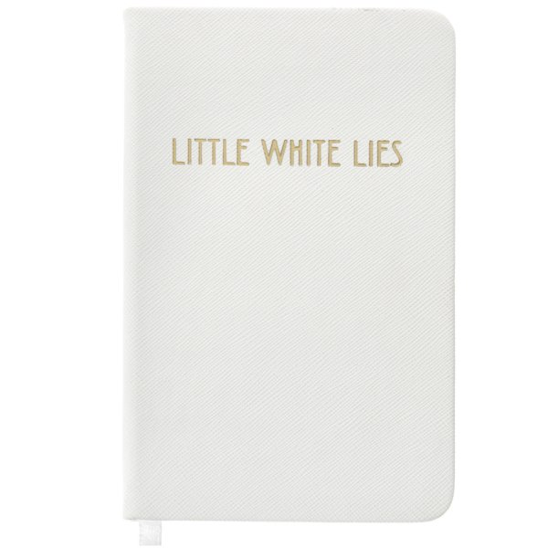 SHINE BRIGHT WHITE NOTEBOOK A6