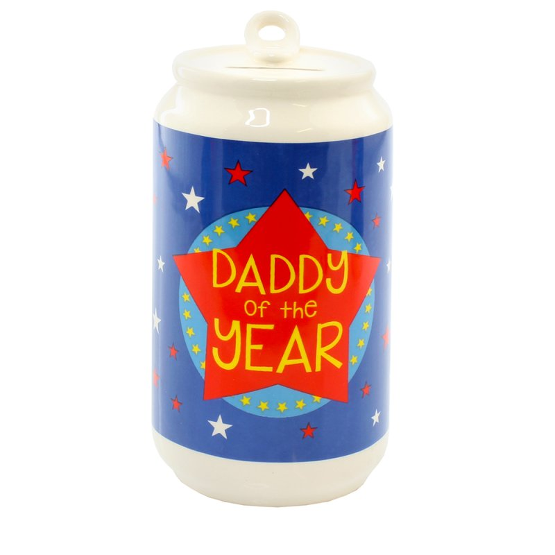 DADDY BEER CAN MONEY BOX