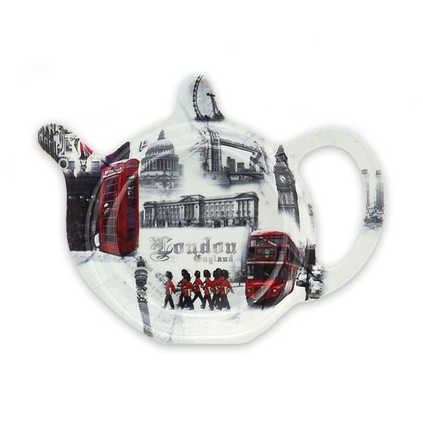 LONDON TEA BAG HOLDER