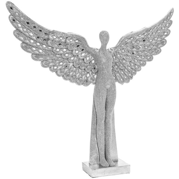 SILVER ART ANGEL 20 ""