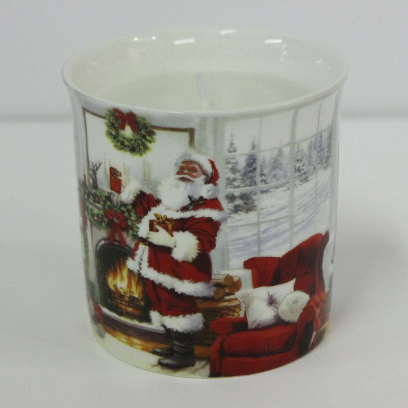 CHRISTMAS SANTA SCENTED CANDLE