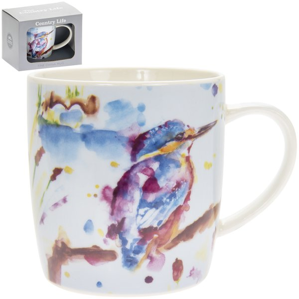 COUNTRY LIFE KINGFISHER MUG