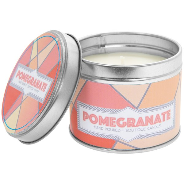 DESIRE POMEGRANATE CANDLE TIN