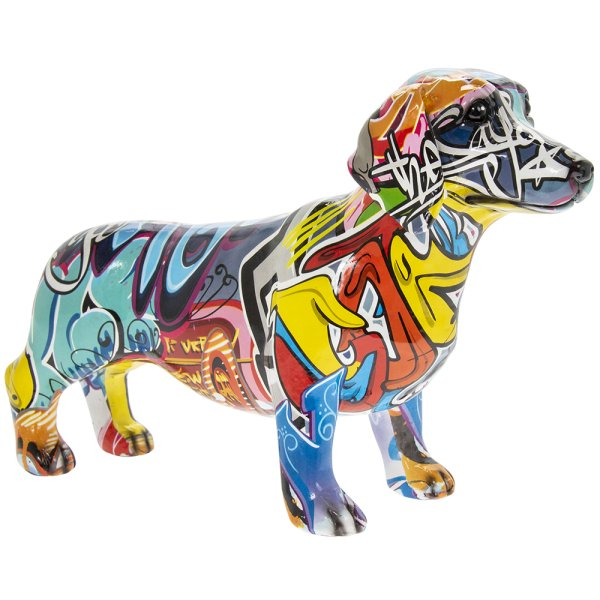 GRAFFITI ART DACHSHUND S
