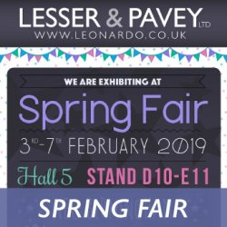 Less than 2 weeks to Spring Fair 2019