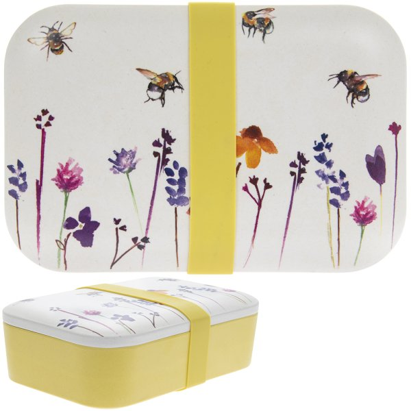 BAMBOO ECO LUNCH BOX BUSY BEES