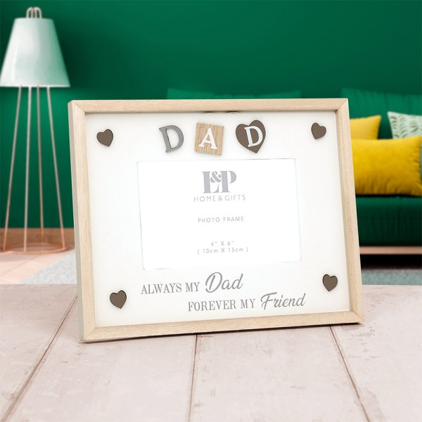 "SENTIMENTS FRAME DAD 4""X6"""