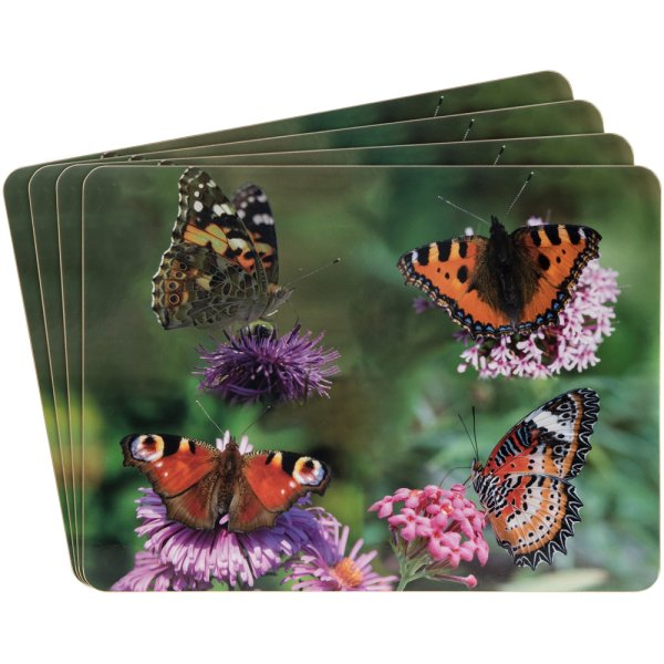 BUTTERFLY PLACEMATS SET OF 4