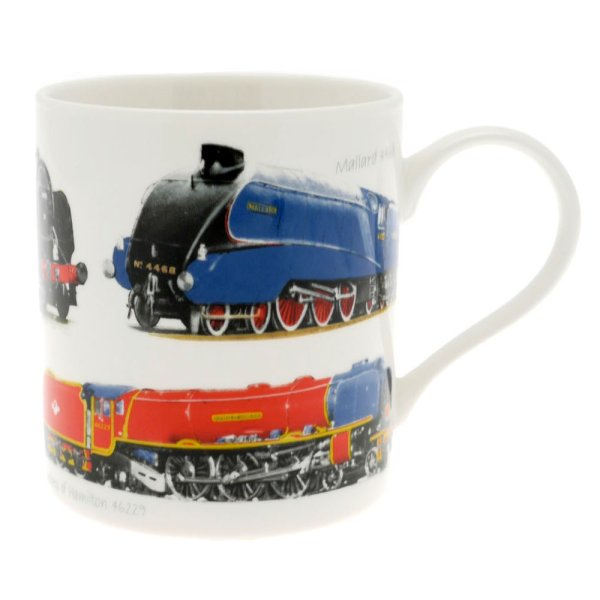 CLASSIC TRAIN FINE CHINA MUG