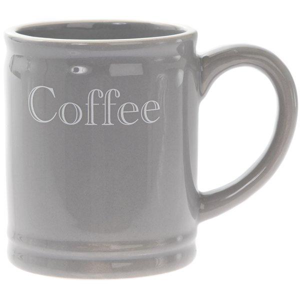 GREY CLASSIC COFFEE MUG