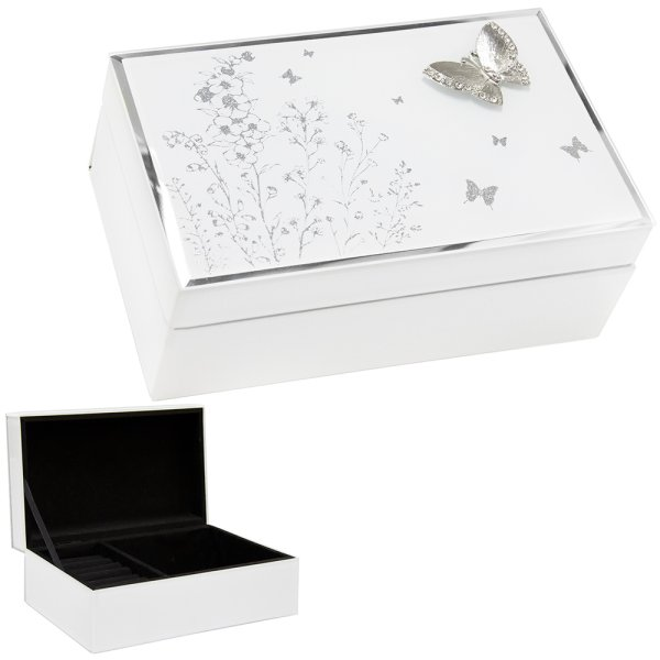 MIRROR BUTTERFLY TRINKET BOX